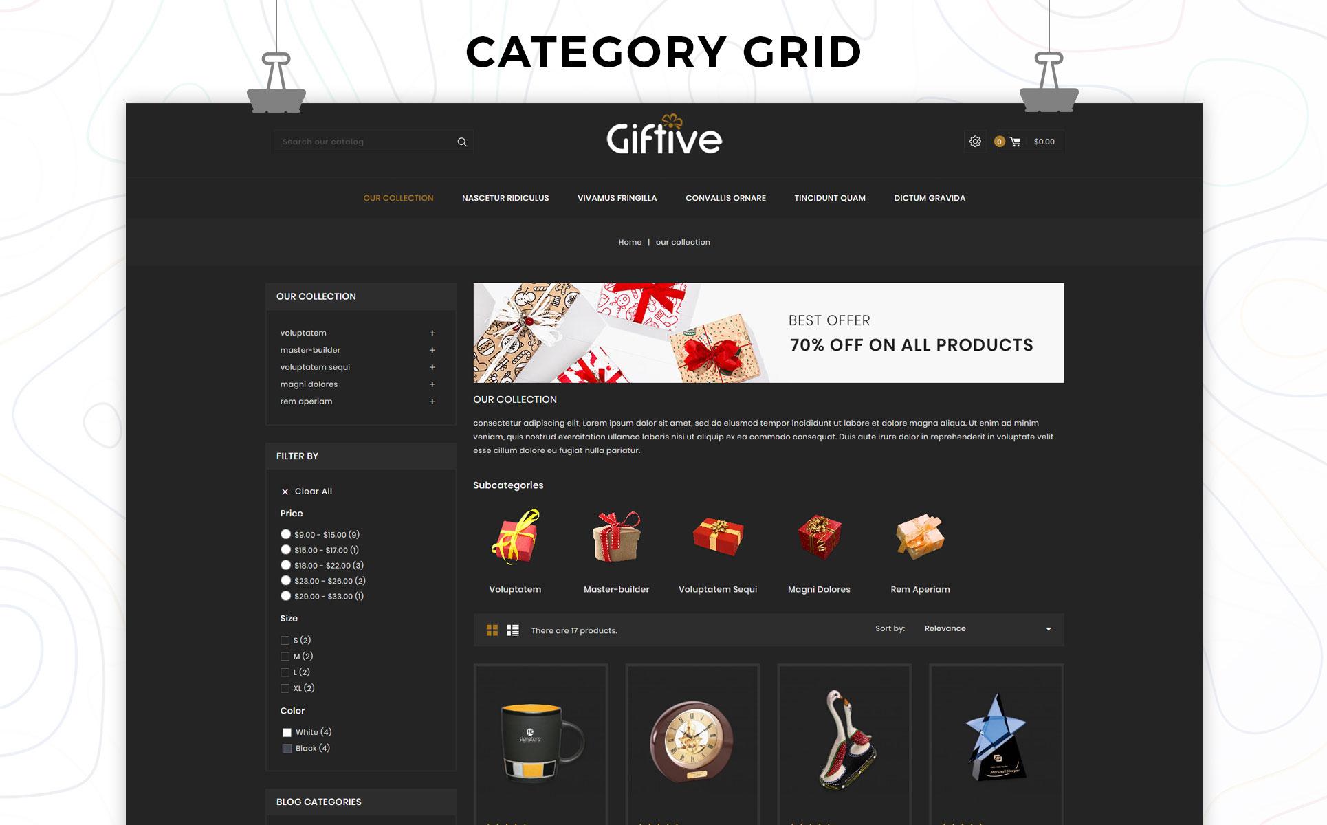 Tema para prestashop - Categoría: San valentín - versión para Desktop