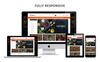 Foodcue - The Fastfood Store Responsive OpenCart Template Big Screenshot