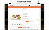 Responsywny szablon OpenCart Foodcue - The Fastfood Store Responsive #75214