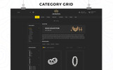 """Jewelza - The Jewelry Store"" thème OpenCart adaptatif"