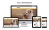 """Rshawn - The Pet Shop Responsive"" thème OpenCart adaptatif Grande capture d'écran"
