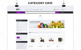 "Template WooCommerce Responsive #76780 ""Gifty - The Gift Store Responsive"""