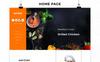 Hotrod Fast Food - Responsive OpenCart Template Big Screenshot