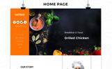 Hotrod Fast Food - Responsive OpenCart Template