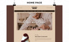 Plantilla OpenCart para Sitio de Panaderías Captura de Pantalla Grande