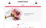 "OpenCart шаблон ""Flowerio - Flower Shop Responsive"""