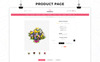 Flowerio - Flower Shop Responsive OpenCart Template Big Screenshot