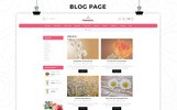 Flowerio - Flower Shop Responsive OpenCart Template