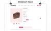 Responsivt Cakebite - Responsive Store OpenCart-mall En stor skärmdump