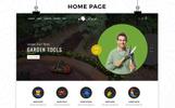 """OpenCart Vorlage namens """"Rush - The Gardening Tools"""""""