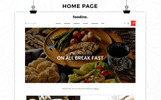 Foodine - The Pizza Shop Template OpenCart  №78812