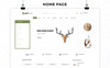 Tema WooCommerce para Sitio de Decoración del hogar Captura de Pantalla Grande