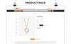 "OpenCart Vorlage namens ""Bridal - The Jewellery Store Responsive"" Großer Screenshot"