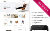 """Furni - The Furniture Store Responsive"" thème OpenCart"