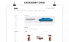 """Furni - The Furniture Store Responsive"" thème OpenCart  Grande capture d'écran"