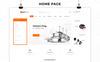 Responsivt Kitmart - The Kitchen Store Responsive WooCommerce-tema En stor skärmdump