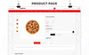 Pizzap - The Pizza Store OpenCart Template Big Screenshot