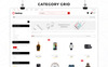 "Template WooCommerce Responsive #80503 ""Reshop - Mega Shop Responsive"" Screenshot grande"