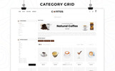 """Cofftos - The Beverage Store"" thème OpenCart Bootstrap"