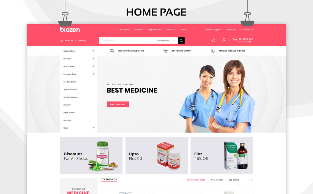 BioZen - Medical PrestaShop Theme