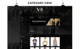 VR Collection Fashion Store Responsive Template OpenCart  №82205