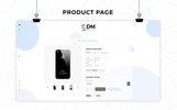 "OpenCart Vorlage namens ""DM Collection Mobile Store Responsive"""