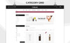 "OpenCart Vorlage namens ""Coinent - The Cosmetic Store Responsive"" Großer Screenshot"