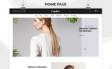 Responsivt Crazler - The Fashion Store Responsive OpenCart-mall