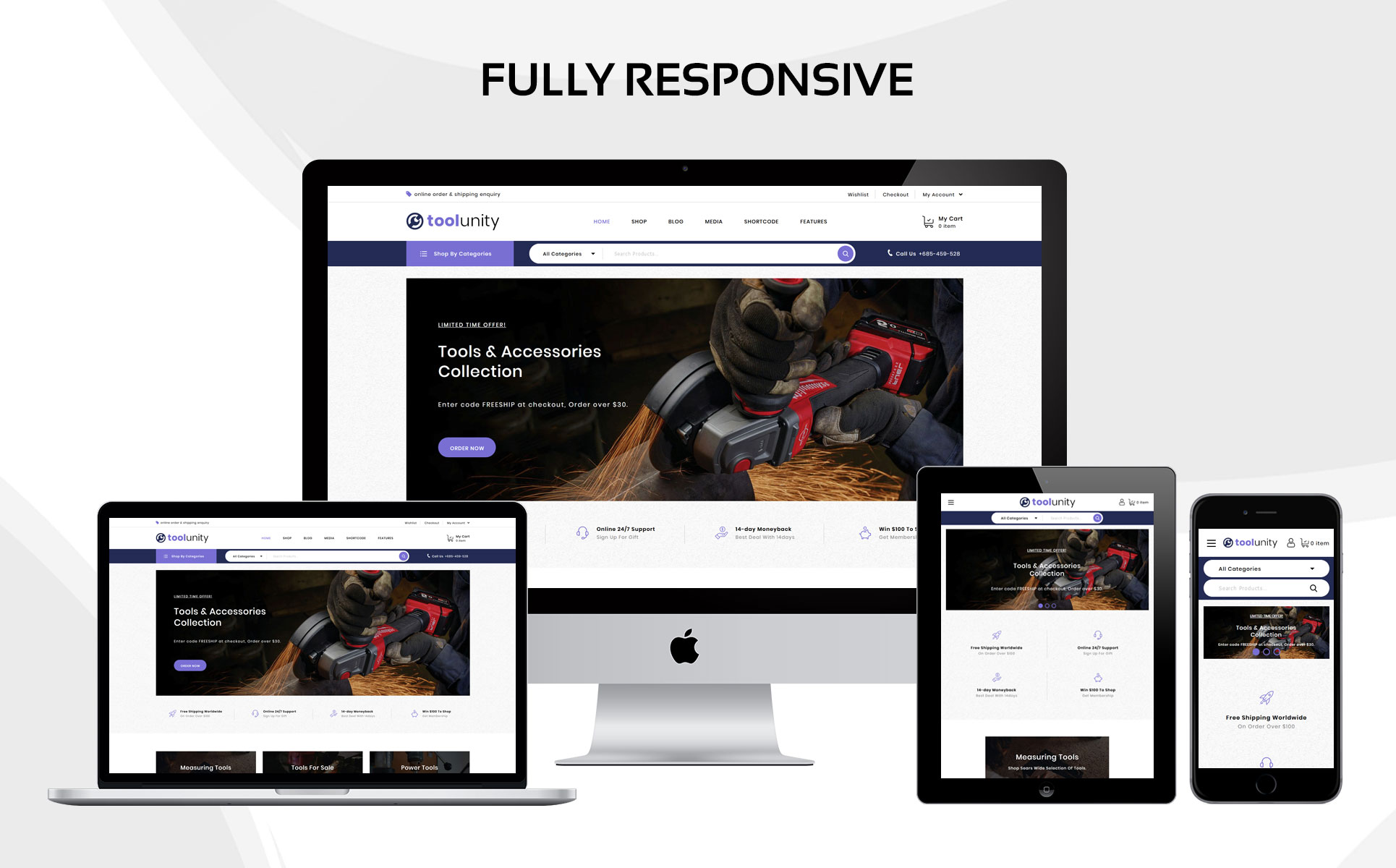 Toolunity - The Tootstore Responsive WooCommerce Theme