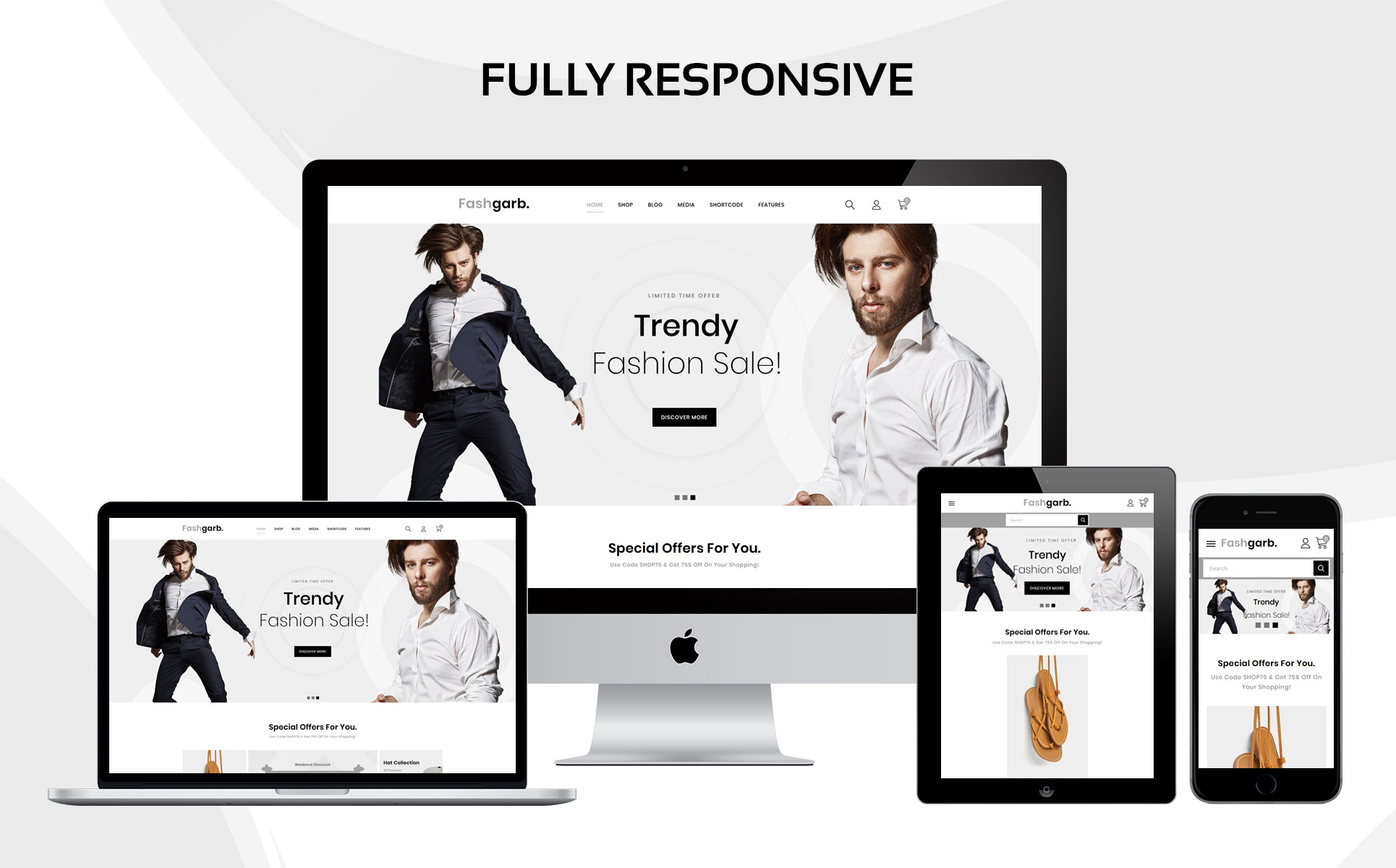 Fashgarb - The Fashion Store Responsive WooCommerce Theme
