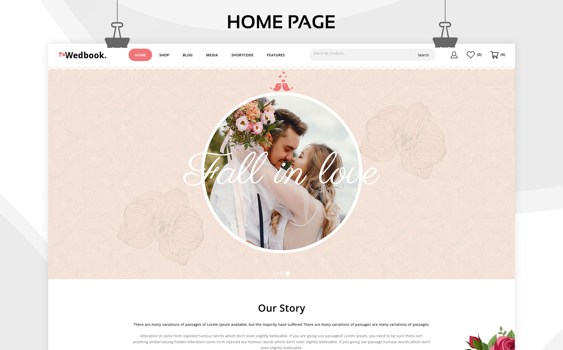Wedbook - The Wedding Store Responsive WooCommerce Theme