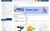 Powertool Template OpenCart  №69726 Screenshot Grade