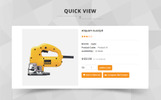 Powertool Template OpenCart  №69726