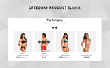 Lessy Lingerie OpenCart Template