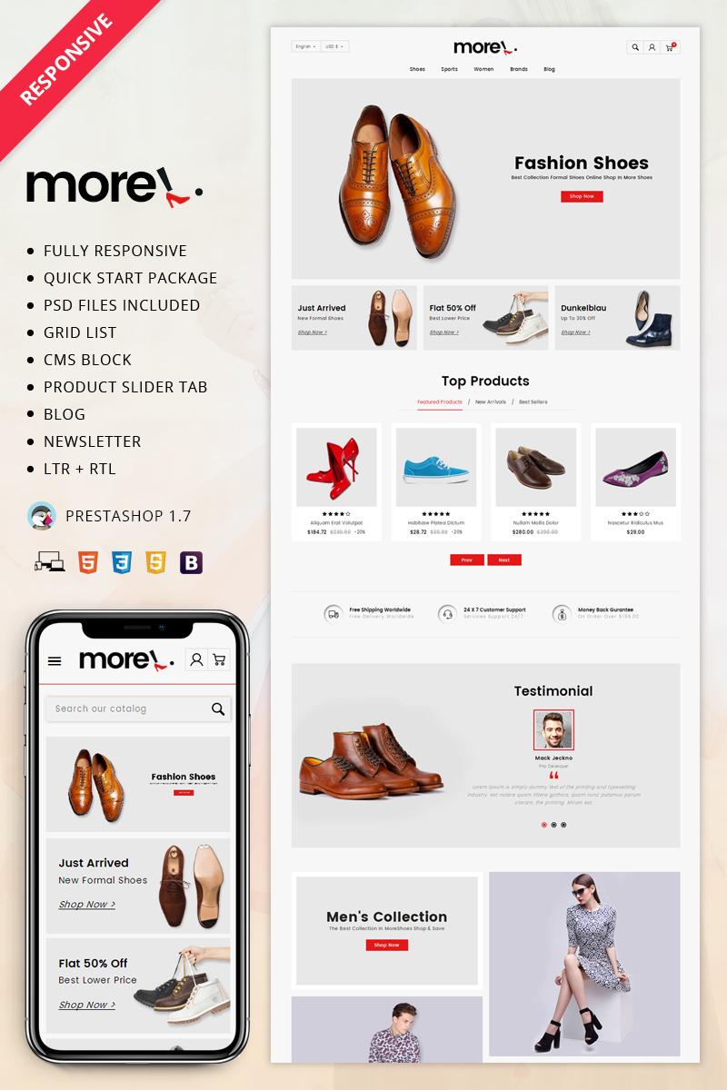 More - Shoes Store PrestaShop Theme