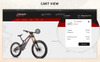 Bicycle Rider PrestaShop Theme Big Screenshot