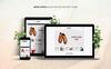 Plantilla OpenCart para Sitio de Zapaterías Captura de Pantalla Grande