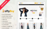 Responsivt Loftbuy - Fashion Store OpenCart-mall