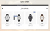 Watch Store 3.x OpenCart Template Big Screenshot
