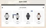 Watch Store 3.x OpenCart Template