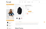 First Style Responsive OpenCart Template