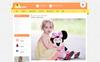 KidsLand Responsive Template OpenCart  №71309 Screenshot Grade