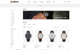 """Responzivní OpenCart šablona """"OnTime - Watch Store"""""""
