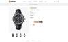 """Responzivní OpenCart šablona """"OnTime - Watch Store"""" Velký screenshot"""