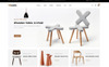 """Woods Furniture Store"" - адаптивний OpenCart шаблон Великий скріншот"