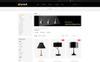 "Template OpenCart Responsive #80644 ""Eyeball Lighting Store"" Screenshot grande"