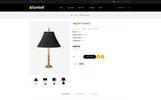 "Template OpenCart Responsive #80644 ""Eyeball Lighting Store"""