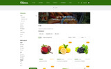 """Olives - Organic Store"" thème OpenCart adaptatif"