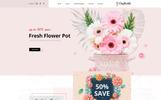 "Responzivní OpenCart šablona ""Daffodils - Flowers Store"""