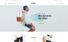 Lewar Bags Store OpenCart Template Big Screenshot